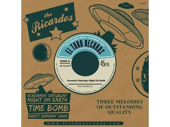 Ricardos, the - Screamin' Saturday Night On Earth - 7''' NY - FRI FRAKT