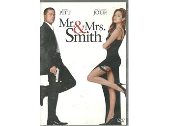 MR & Mrs Smith - BRAD PITT , ANGELINA JOLIE (SVENSKT TEXT )