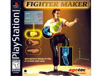 Fighter Maker (USA) - Playstation