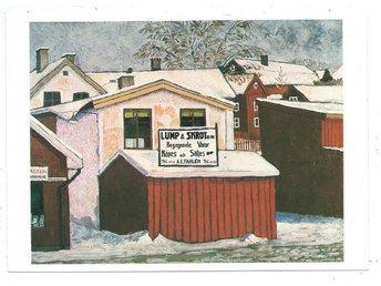 Strängnäs Lump & Skrot Vykort 1976 Hasse Froom signerade Oskrivet KV 8 - Enköping - Strängnäs Lump & Skrot Vykort 1976 Hasse Froom signerade Oskrivet KV 8 - Enköping
