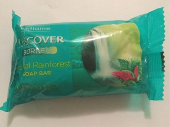 Tvål Oriflame FRI FRAKT Discover Borneo Tropical Rainforest 100 gram