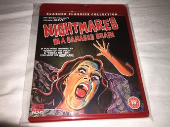 Nightmares in a Damage Brain (1981, Blu-ray)