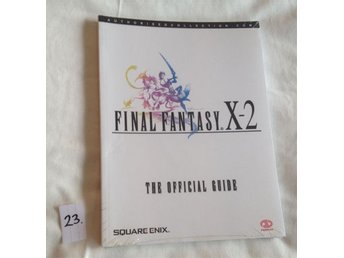FFX2 Final Fantasy X-2 - The Official Guide. Ny och inplastad!