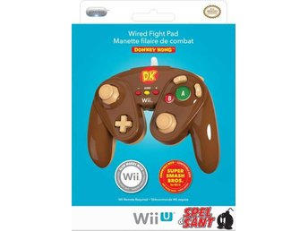 Nintendo Wii U Wired Fight Pad Donkey Kong Edition