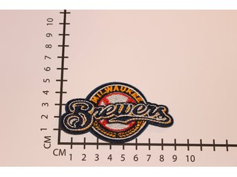 Milwaukee Brewers Broderat tygmärke att stryka på | Iron-on patch