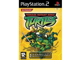 TURTLES (komplett) till Sony Playstation 2, PS2 - Göteborg - TURTLES (komplett) till Sony Playstation 2, PS2 - Göteborg