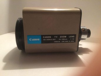 Canon Objektiv TV ZOOM LENS v6x18rea(dc) 18-108mm. 1:1,6 Made In Japan