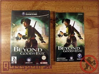 Beyond Good & Evil till Gamecube / GC