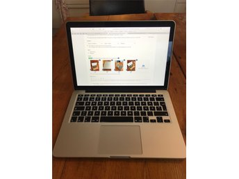 "Macbook Pro 13"" Retina late 2013, 256 GB SSD, 8 GB RAM - fri frakt!"