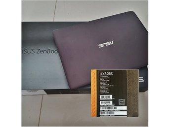 """Asus UX305CA-FC043T, M3 8GB 256GB SSD 13.3"""" ##som ny## - Vallentuna - Asus UX305CA-FC043T, M3 8GB 256GB SSD 13.3"""" ##som ny## - Vallentuna"""