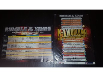 Fight card - Rumble of the King 2007/2009 K-1