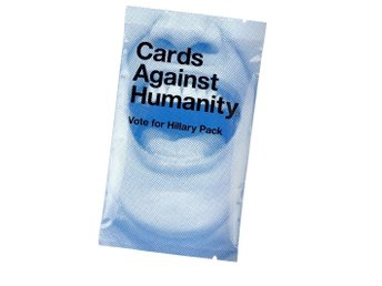 Cards against humanity, Vote for Hilary pack