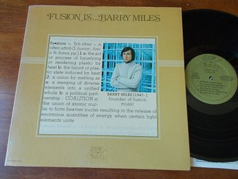 BARRY MILES - Fusion is, LP Gryphon USA 1978