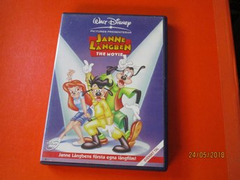 JANNE LÅNGBEN - THE MOVIE - WALT DISNEY - DVD