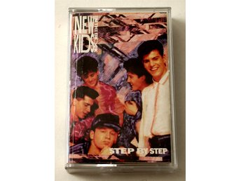 NKOTB - New Kids On the Block / Step By Step kassettband 1990