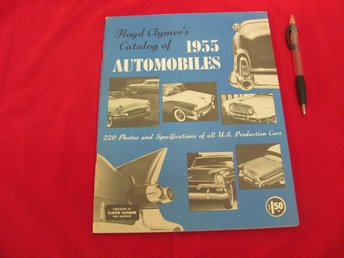 Floyd Clymers Catalog Of 1955 Automobiles