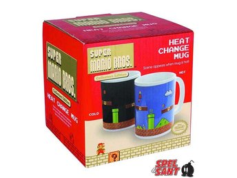 Super Mario Bros Heat Change Mug