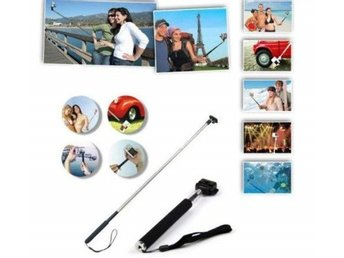3-IN-1 ADJUSTABLE SELFIE STICK MONOPOD PHONE CAMERA + WIRED SHUTTER for iPHONE