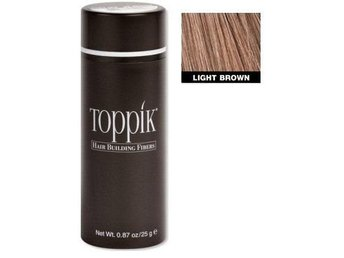 Toppik 27,5 g (Large size) - Light Brown - Ljusbrun (Helt ny)