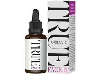 ! NYTT TRUE ORGANIC FACE IT SERUM 30 ML/ EKOLOGISKT ANSIKTSVÅRD