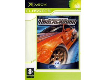 Need For Speed: Underground - Classics - Xbox