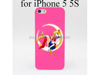 SAILOR MOON IPHONE 5 5S SKAL - Case Fodral Anime Manga S