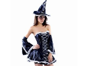 REA! 38/40 - Häxa Wicca OZ maskerad Halloween - åkersberga - REA! 38/40 - Häxa Wicca OZ maskerad Halloween - åkersberga