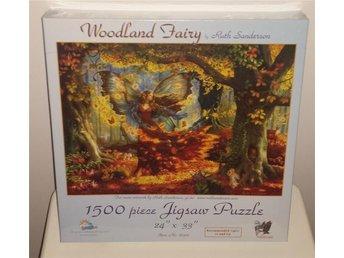 Nytt inplastat pussel 1500 bitar Höst Älva Woodland Fairy - örebro - Nytt inplastat pussel 1500 bitar Höst Älva Woodland Fairy - örebro