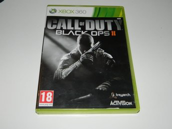 Call of Duty Black ops 2 II   -  Xbox 360 spel