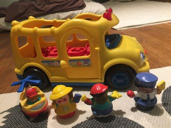 Fisher price Little people Skolbuss