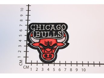 Chicago Bulls NBA Broderat tygmärke att stryka på | Iron-on patch