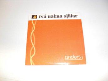 Anders j - Två nakna själar - CD Singel - Västervik - Anders j - Två nakna själar - CD Singel - Västervik