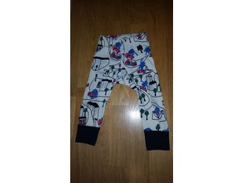 POP Polarn och pyret leggings  stl 80
