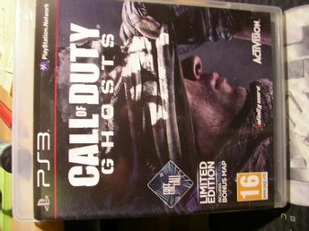PS3 spel Call of Duty Ghosts
