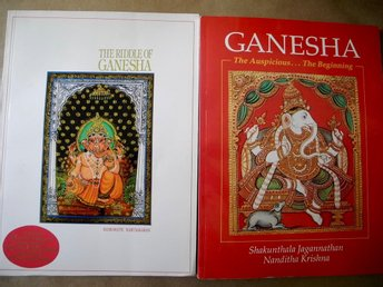 THE RIDDLE OF GANESHA + GANESHA THE AUSPICIOUS THE BEGINNING