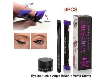 HELT NYTT!! VAMP STAMP EYELINER CAT EYE WING EYELINER STAMP