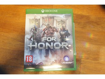For Honor Xbox one/One S Spel