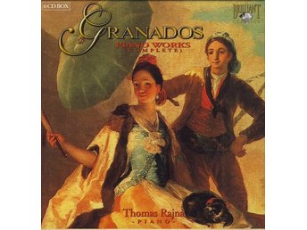 Granados* / Thomas Rajna - Piano Works (Complete) (6xCD + Box, Comp)