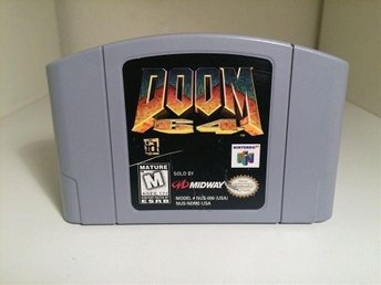 Doom 64 - Nintendo 64 / N64 - NTSC / USA