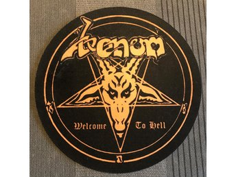 Venom - Welcome to Hell (SLIPMAT)