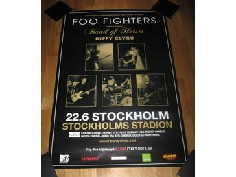 FOO FIGHTERS TURNÉAFFISCH 2011