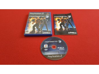 FANTASTIC 4 till Sony Playstation 2 PS2
