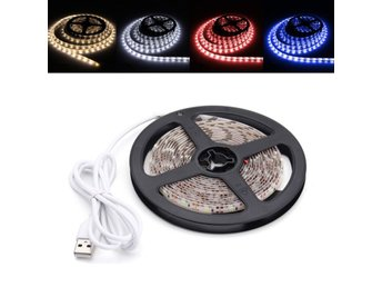 3M Pure White Warm White Red Blue 2835 SMD Waterproof USB...