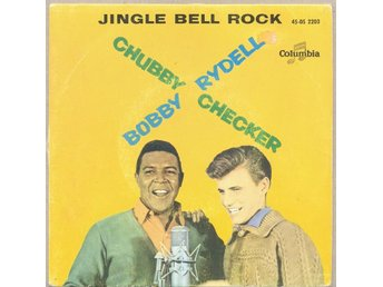 Christmas record EP Chubby Checker / Bobby Rydell