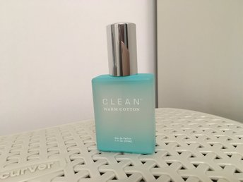 CLEAN warm cotton edp 30ml, helt ny