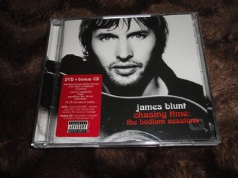 JAMES BLUNT -CHASING TIME : THE BEDLAM   (CD+DVD I NYSKICK)