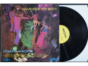 Zygmunt Jankowski – Hammond Pop Party – LP