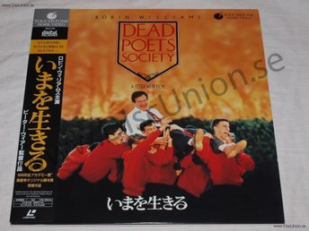 DEAD POETS SOCIETY - ROBIN WILLIAMS JAPAN LD
