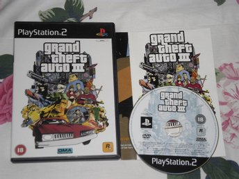 PlayStation 2/PS2: Grand Theft Auto GTA III 3