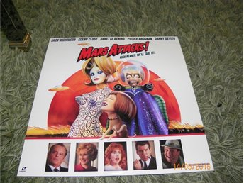Mars Attacks! - AC-3 - Widescreen edition 1st laserdisc